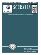 cover page SOCRATES EDITION-I YEAR 2013 ISSN 2347-2146