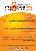 Poster Tunisian Open Access Week Events