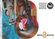 Open Access postcards at LSHTM