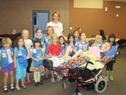 Daisy Scouts Give Back