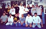 Fabricio Werdum and Marcio Corleta at The Detroit Metro Fight Club
