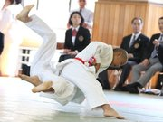 36 annual national juvenile Judo tournament second round, fukugawa Judo Junior sport