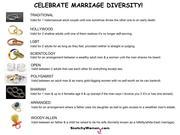 Celebrate Marriage Diversity!