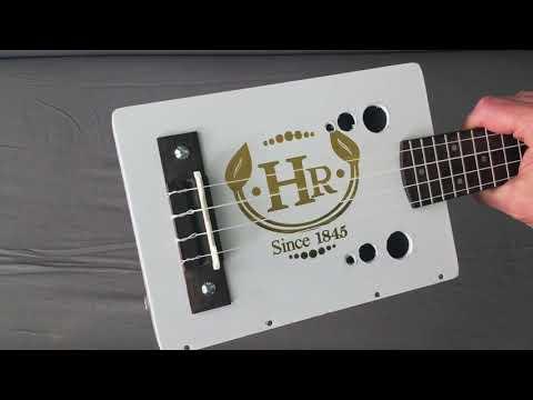 Cigar Box Ukulele build & song demo