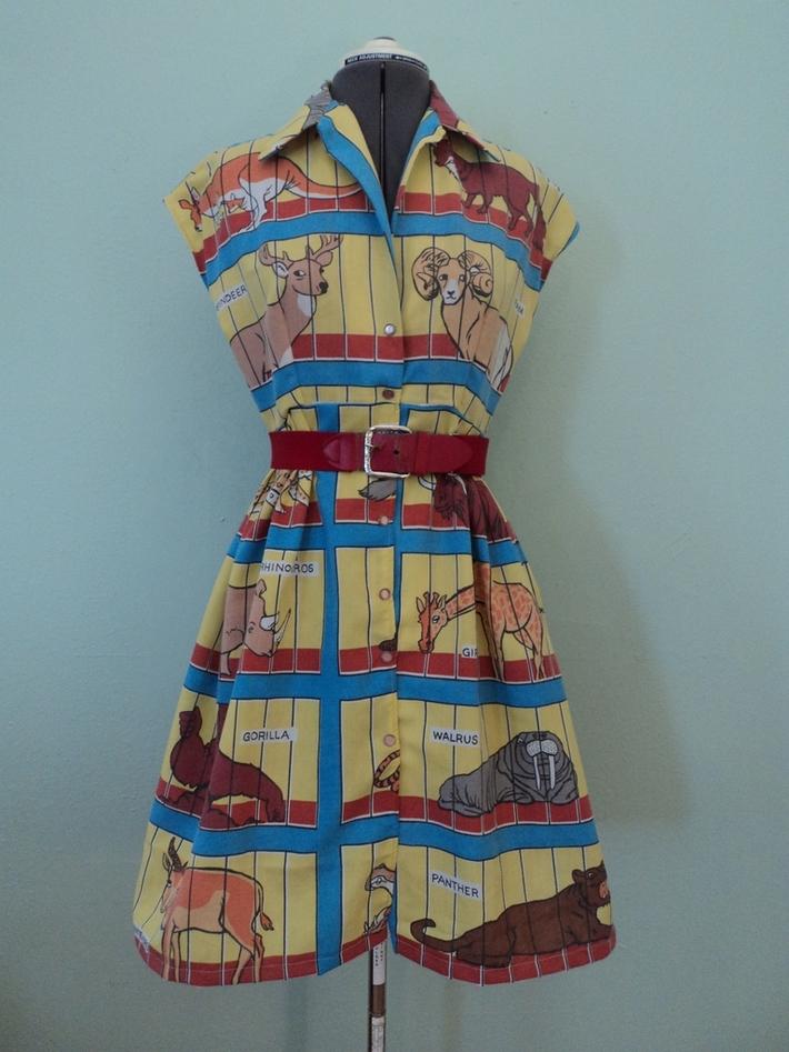 animal cracker dress