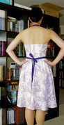 Miss Lavender, back view