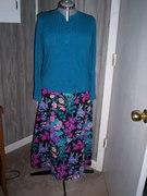 Patternless Skirt & A little Purple