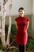 Anthropologie Inspired Tie-Neck Sweater Dress