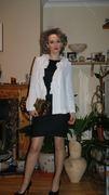 Winter mood cardigan and september dress