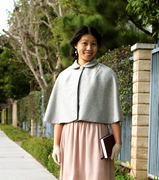Capelet from Butterick 5032