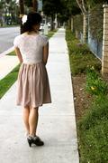 Dulcie Dress, Back View