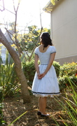 Alice dress, back view