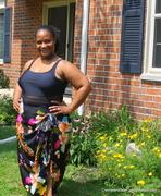Hibiscus Garden Swimsuit Cover Up
