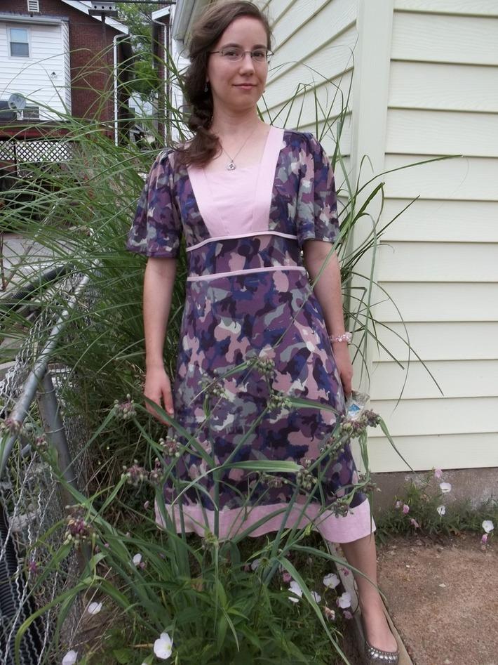 Camouflage Knit Dress