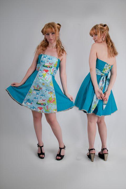 Little Mermaid Bustier dress
