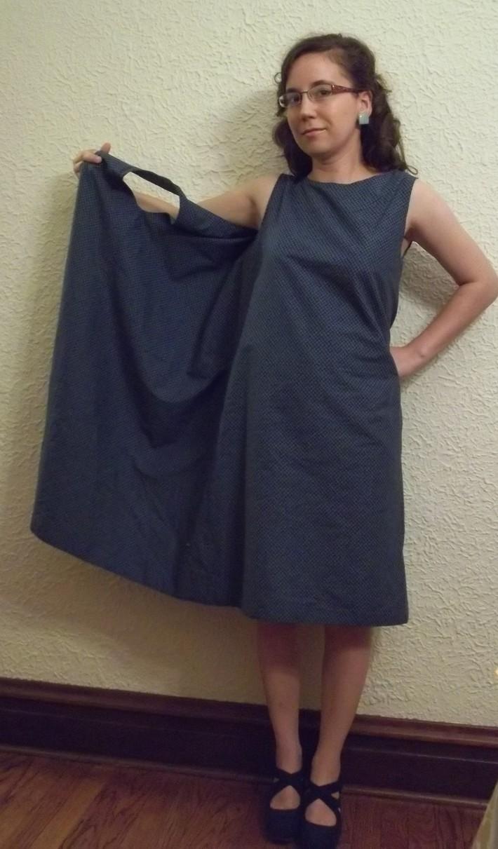 The Late 60s Three-Armhole Dress