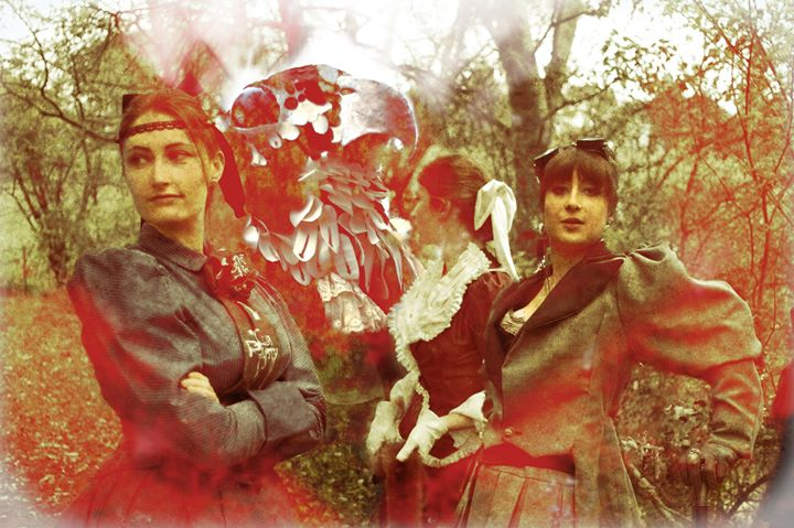 Victorian and steampunk inspired costumes