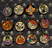 Halloween Pendant Collection by Tiffany Trocki