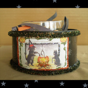 Kitty Campfire Candle Can