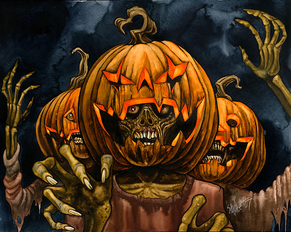 Zomb-O-Lanterns by Chad Savage
