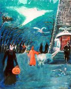 Welcome to my Halloween dream by Tiger Lily Cross