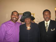 APOSTLE RON WITH MOM AND DAD