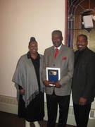 Apostle Ronnie & Karen with Minister Montgomery