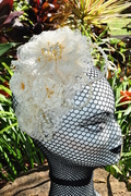 Handmade lace flowers