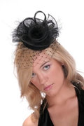 Hatsonheds Designer Hat Making Kit - Style 2 Black