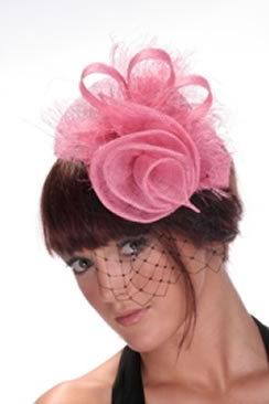 Hatsonheads Designer Hat Making Kit  - Style 2 Pink