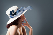 Wide brimmed hat - Ava Gardener
