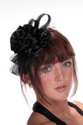Hatsonheads Designer hat making Kit Style 1 Black