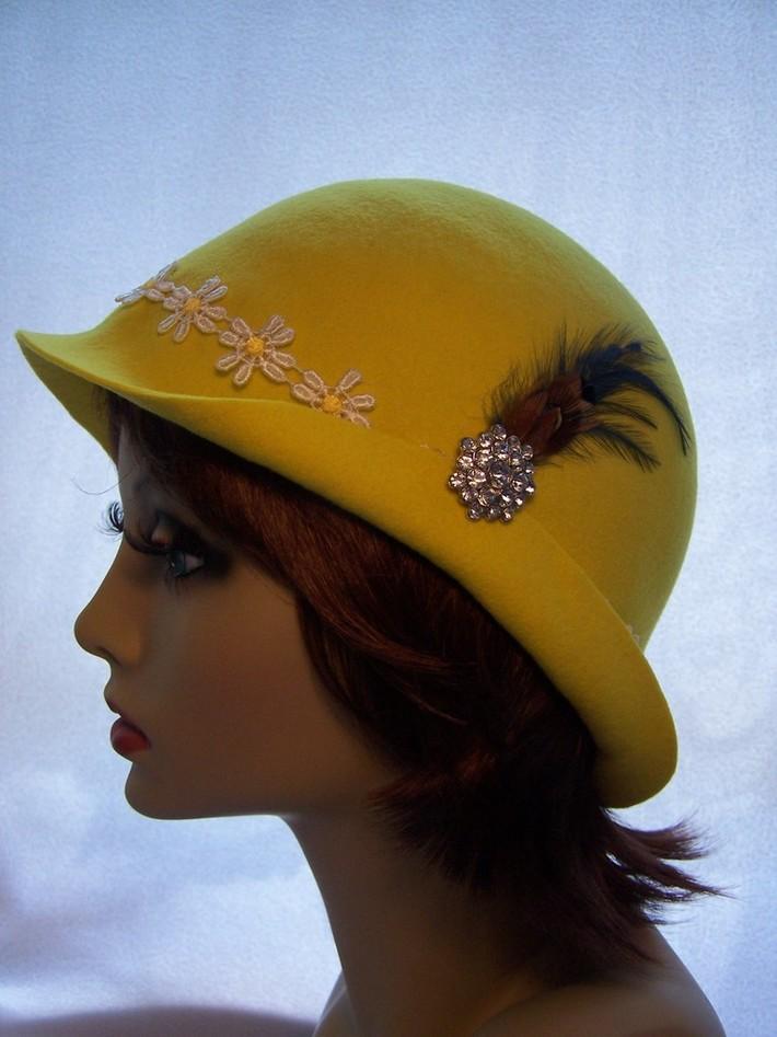 Sunny Yellow Cloche