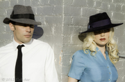 Noir Fedoras for men and women