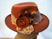 Burnt Orange Trilby