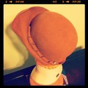 Nutmeg Twirl - Wool Hand-blocked Hat