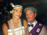 20's style flapper band...