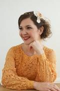 Tina Kite Millinery, Bridal Halo