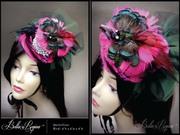 Vermillion Bird - BellaRegina Designs
