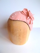 Just Peachy Cocktail Hat