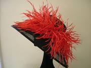 Red biot hat