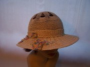 Light and Airy Cloche with Brim / Sun Hat