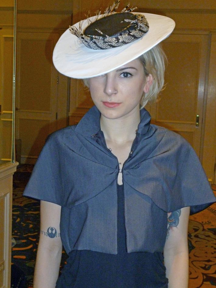 Brigitte hat by tonya gross millinery