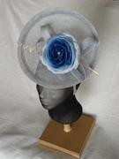 Cap'a di Carina - headpiece with blue rose