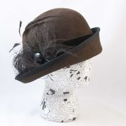 Brown Cloche, Lady Mary