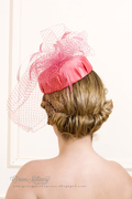 Monaco Pill Box Hat by O'mimi Millinery SS2013