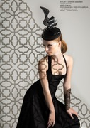 Aniss Millinery Australia Editorial Hat 1