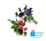 Sweet pea corsages
