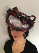 Hot to Trot ( 50s inspired sporty headpiece)