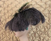 Emerald Diva headpiece